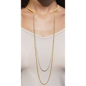 Jewelry - Draped Chain Collar Necklace